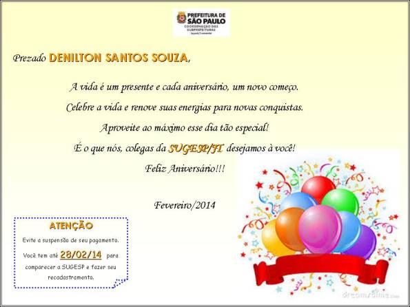 DENILTON SANTOS